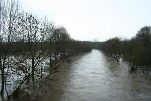 Agger, Hochwasser