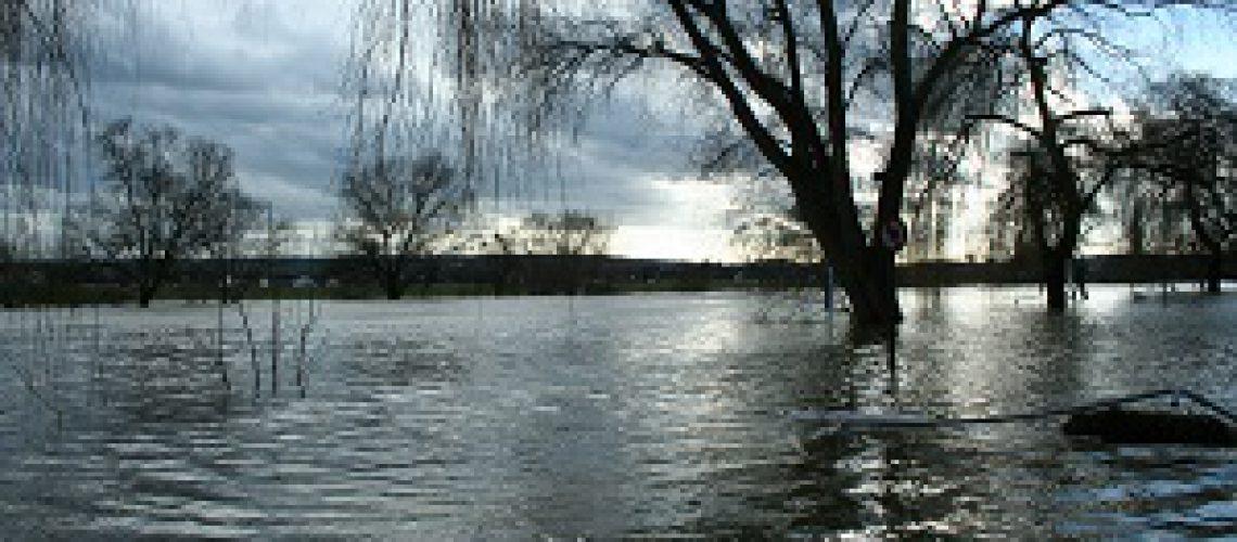 Hochwasser zum Jahreswechsel